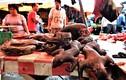 Hãi hùng khu chợ bán thịt khỉ ở Indonesia