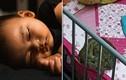 Vào xem con ngủ, mẹ thất kinh thấy trăn dài 1 mét cạnh con