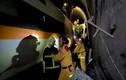 Hiện trường tai nạn tàu hỏa thảm khốc ở Đài Loan