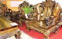 Choáng bộ ghế kỳ lân 7 tấn, 2,2 tỷ của đại gia Sài Thành