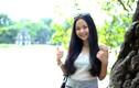 Hot girl Triều Dâng khoe dáng ở Thủ đô