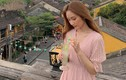 """Người đẹp Hong Kong có nụ cười như thiên thần thích thú """"thả dáng"""" ở Hội An"""