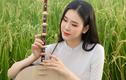 Á khôi 10X xứ Nghệ khoe nhan sắc cực phẩm bên ruộng lúa