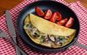 Cách làm trứng tráng nấm phomai - món ngon tăng cường đề kháng mùa dịch