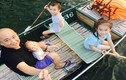 Ông bố đơn thân Việt một nách nuôi 3 con nhỏ