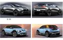 """""""Soi"""" 11 mẫu ôtô VinFast mới được đăng ký quyền sở hữu trí tuệ"""