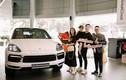 """Gia đình Cam Cam """"chơi lớn"""" tậu Porsche Cayenne Coupe hơn 5 tỷ đồng"""