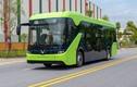 Trạm xe buýt điện VinFast đang dần hoàn thiện tại Hà Nội