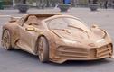 Bugatti Centodieci bằng gỗ, được ông Bố Việt tự chế cho con trai