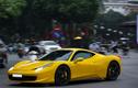 """""""Siêu ngựa"""" Ferrari 458 Italia hàng hiếm tái xuất tại Hà thành"""