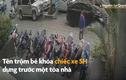 Video: Trộm bẻ khóa xe SH ở Hà Nội