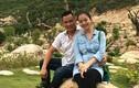 Jennifer Phạm khoe ảnh bầu 5 tháng bên ông xã