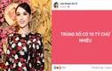 """Lâm Khánh Chi lên tiếng về lời tuyên bố """"trúng số"""" 10 tỷ"""