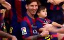 Nhìn gần vẻ siêu đáng yêu của con trai Messi