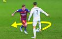 """Tình huống tranh chấp bóng cực """"chất"""" giữa Ronaldo và Messi"""
