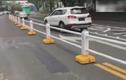 Cận cảnh dải phân cách tự dịch chuyển chống kẹt xe
