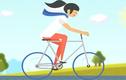 Đạp xe giúp bạn thay đổi ba vòng cơ thể