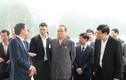 Chùm ảnh: Phái đoàn Triều Tiên rời khách sạn Melia Hà Nội đi đâu sáng nay?