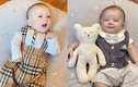 Mới 3 tháng tuổi nhưng quý tử nhà Duy Mạnh đã ăn mặc cực chất