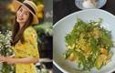 Những món salad lành mạnh giúp Hà Tăng giữ dáng nuột nà