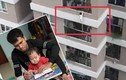 Cháu bé 3 tuổi rơi từ tầng 12 được cứu sống: Lan can đặt nhiều đồ dễ leo trèo?