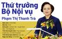 Nữ Thứ trưởng Bộ Nội vụ được giới thiệu ứng cử Đại biểu Quốc hội
