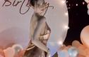 """Soi chiếc váy mỏng manh Ngọc Trinh diện trong tiệc sinh nhật khiến fan """"xịt máu mũi"""""""