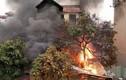 Hà Nội: Cháy ngùn ngụt cửa hàng bán chăn ga gối đệm
