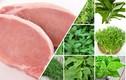 7 thực phẩm đại kỵ với thịt lợn các bà nội trợ cần nhớ