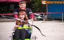 Trai xinh gái đẹp Hà thành thi nhau lái xe máy bắn cung