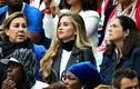 Vẻ xinh đẹp của bạn gái Pogba ở bán kết World Cup 2018