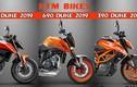 """""""Soi"""" dàn xe môtô KTM mới sắp bán ra thị trường năm 2019"""