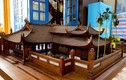 Tận mắt mô hình đình làng gỗ 300 năm có tiền cũng không mua được