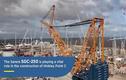 Video: Cần cẩu có khả năng nâng 5.000 tấn hàng hóa mỗi lần