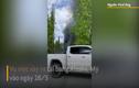Video: Ngôi nhà di động bất ngờ bùng cháy dữ dội ở Mỹ