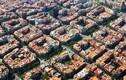 Chiêm ngưỡng các thành phố có quy hoạch độc đáo nhìn từ trên cao