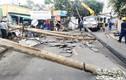 Lời khai của ông Tây lái ôtô tông đổ 5 trụ điện ở Thảo Điền