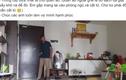 """Video: Chồng ra tay dọn nhà 3 tiếng rồi quay lại video làm """"bằng chứng"""""""