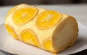 """Video: Cách làm bánh kem cuộn cam ngon ngất ngây, """"đánh bay"""" nắng nóng"""