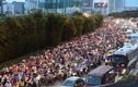 Video: Cảnh xe cộ chen nhau vào hầm sông Sài Gòn