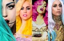 """Khán giả """"tròn mắt"""" bởi những màu tóc nhuộm nổi bật của Lady Gaga"""