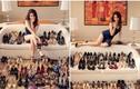 Ngọc Trinh thể hiện chất chơi với bộ sưu tập giày độc lạ