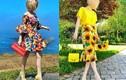 Mỹ nhân giấu mặt gây sốt nhờ gu thời trang sang chảnh, đa sắc màu