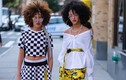 Cặp song sinh gây sốt vì phong cách thời trang cá tính, nổi loạn