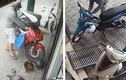 Giật mình 2 tên trộm giống y hệt nhau liên tục bẻ khóa xe máy ở Gò Vấp