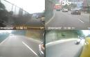 Lái mô tô hùng hổ vác dao rượt theo chém taxi và cái kết đắng