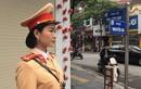 Nữ CSGT Hải Dương xinh đẹp xuống đường, dân chấp hành nghiêm