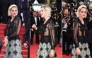 Kristen Stewart không mặc nội y trên thảm đỏ Cannes