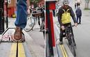"""Thang máy cho xe đạp lên dốc """"độc, lạ"""" nhất thế giới"""