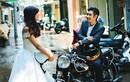 Ảnh cưới bên xe độ của chàng thợ xăm và nàng stylist